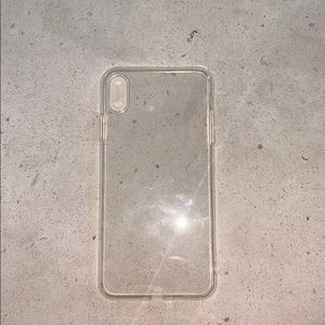 Clear IPhone 10 Max case